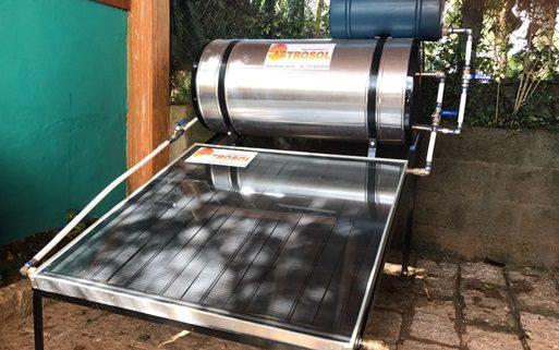 Aquecedor Solar Híbrido