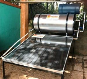 aquecedor solar popular