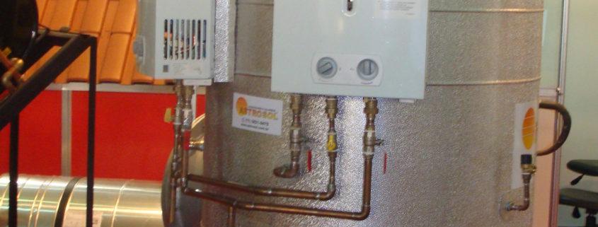 aquecedor a gás de passagem